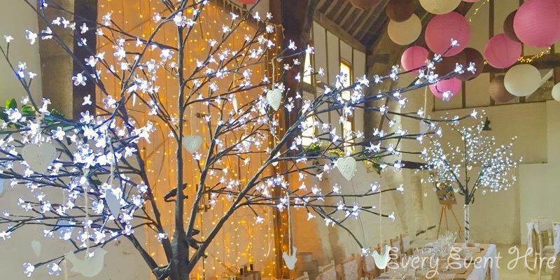Brockworth Court LED Blossom Trees