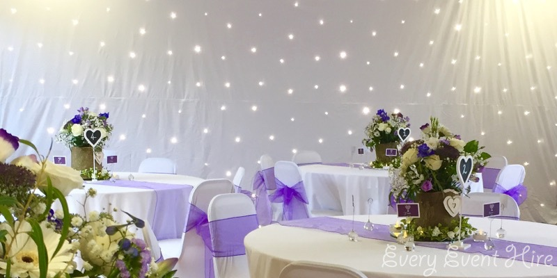 Starlit Backdrop Curatin Hire Gloucester