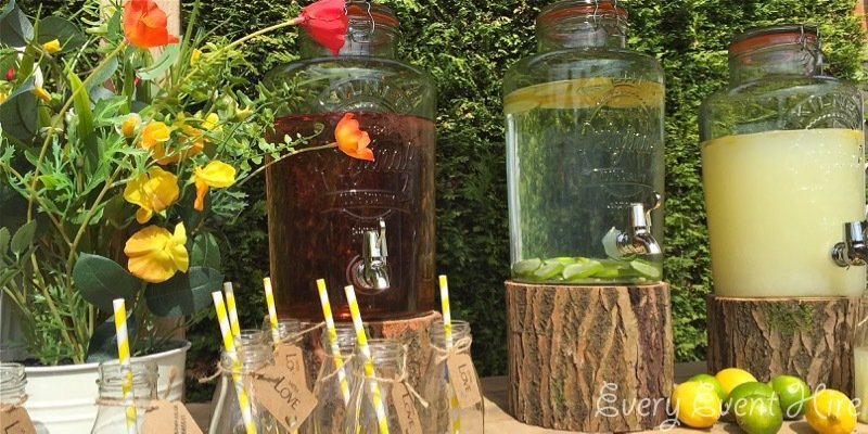 Rustic Drinks Stand Hire Gloucestershire