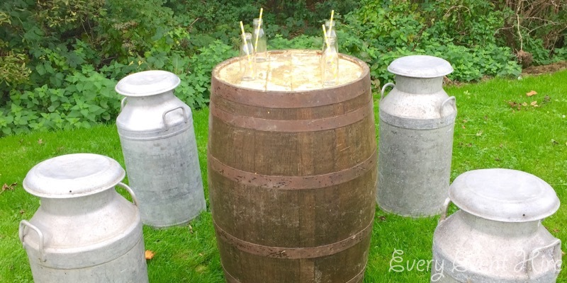Wooden Barrel Hire Gloucestershire