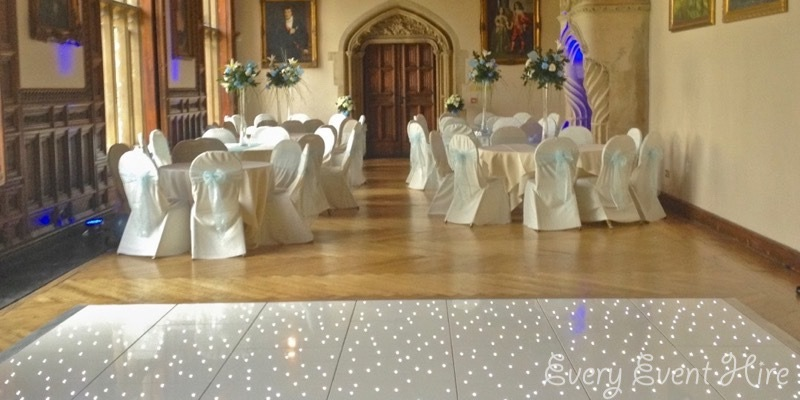 Every Event Hire White Starlit Dance Floor