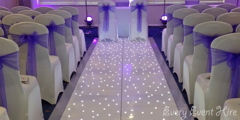 Starlit Wedding Aisle Hire Gloucestershire