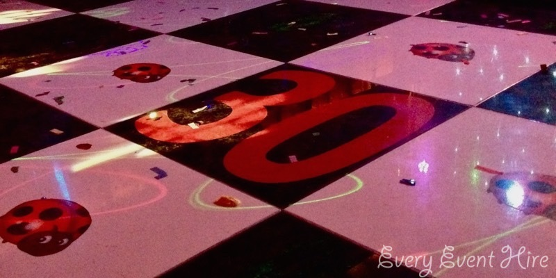 Dance Floor with graphics Gloucestershire