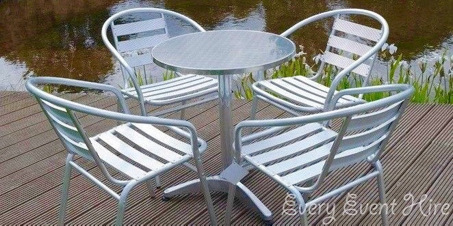 Bistro Table and Chairs Hire Gloucestershire