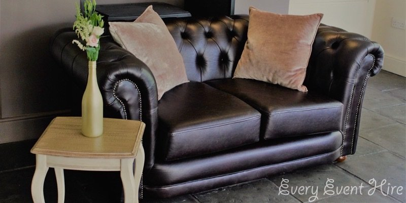 2 Seater Chesterfield Style Sofa at Hyde Barn