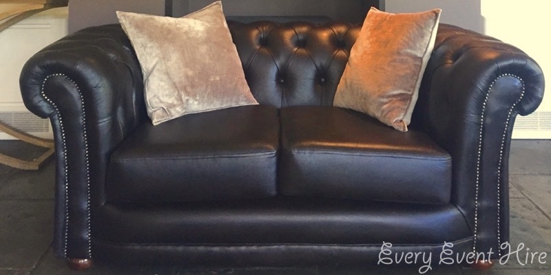 Chesterfield Style Sofa at Hyde Barn