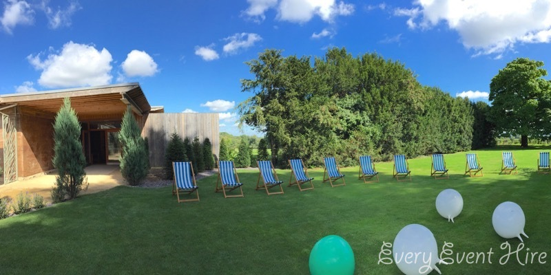 Every Event Hire Deckchairs