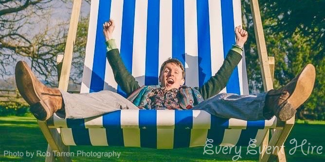 Giant Deckchair Hire Gloucester