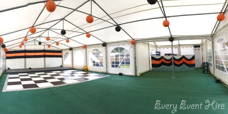 40th Birthday Marquee Hire Gloucestershire