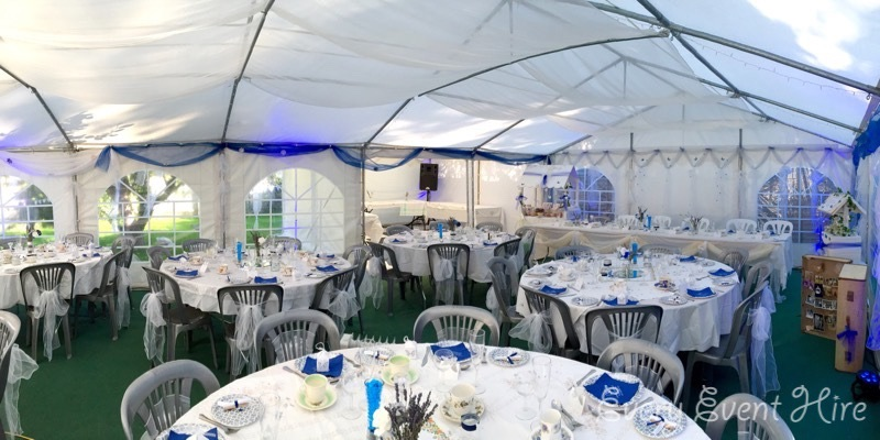 Intimate Wedding Marquee Gloucestershire