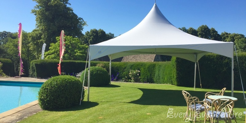Gloucestershire Garden Party Marquee
