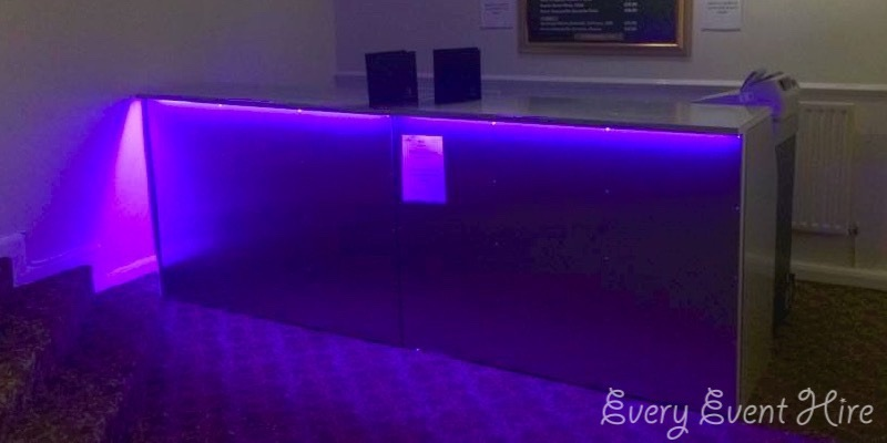 Illuminated Bar Hire Gloucestershire
