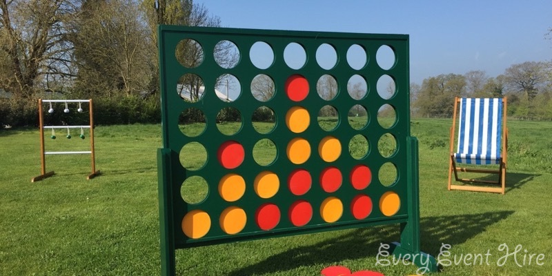 Giant Connect 4 Hire Gloucestershire