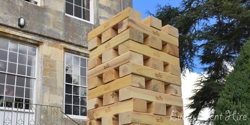 Giant Jenga Hire Gloucestershire