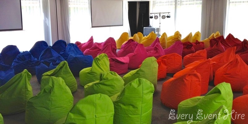 Bean Bag Hire for Body Shop