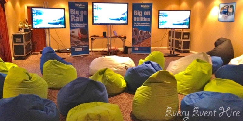 Corporate Bean Bag Hire
