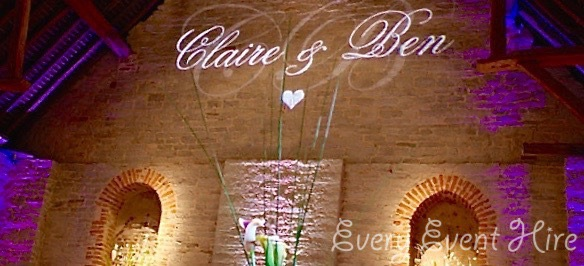 Wedding Image Projection