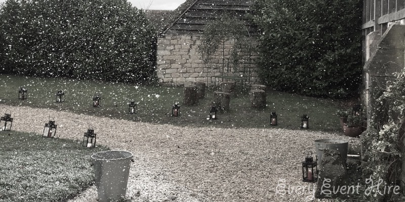 Snow Machine Hire Gloucestershire