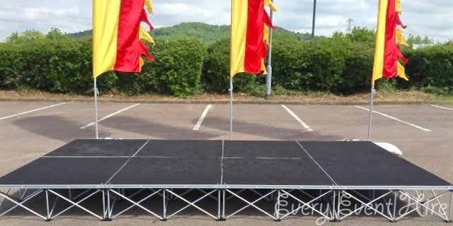 Event Stage Hire Gloucestershire