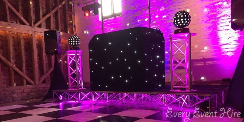 Stage Hire at Over Barn