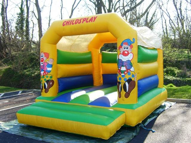 clown bouncy castle hire gloucester