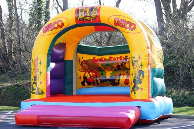 disco bouncy castle hire gloucester