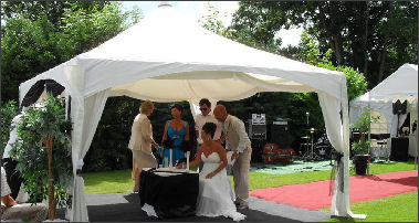 6x6 pagoda marquee