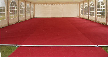 marquee carpet hire gloucestershire