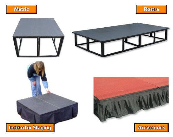 Staging hire gloucestershire