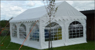 4x6m marquee