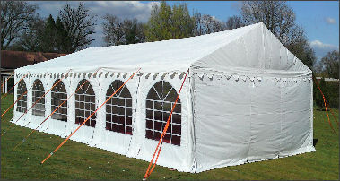 4x12m marquee