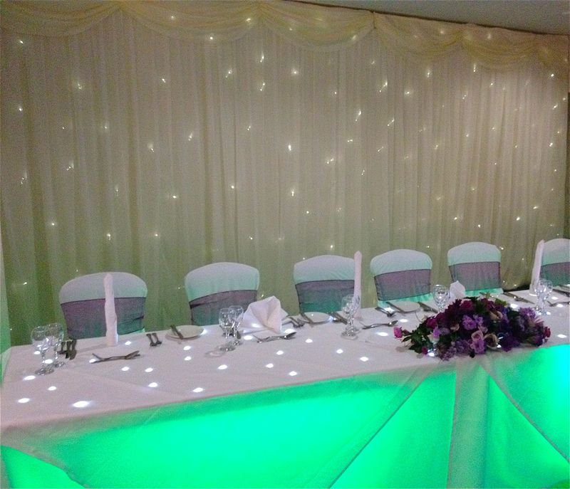 Starlit Top Table Green