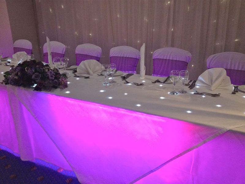 Starlit Top Table Magenta
