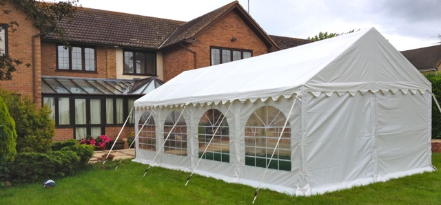 8m x 4m party tent & Marquee and Party Tent Hire Gloucestershire and Surrounding Areas