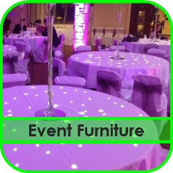 Event Furniture Hire Gloucestershire