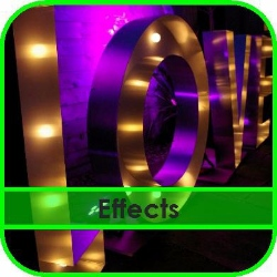 Lighting Effects Hire Gloucestershire