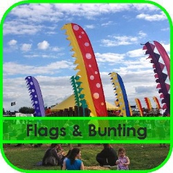 Flags and Bunting Hire Gloucestershire