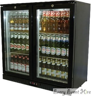 Bottle Cooler Hire Gloucestershire Double Door