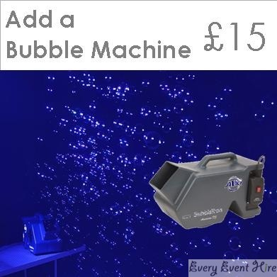 Bubble Machine Hire in Gloucestershire