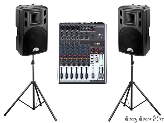 Speaker and Mixer Hire Gloucestershire