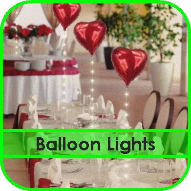 Balloon Lights Hire Gloucester