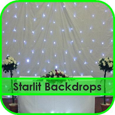 Starlit Backdrop Hire Gloucestershire