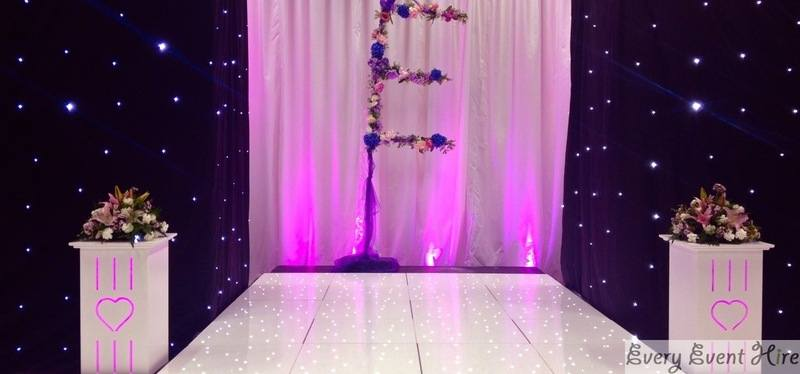 Illuminated Plinth Hire Gloucestershire