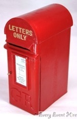 Red Postbox Hire Gloucestershire