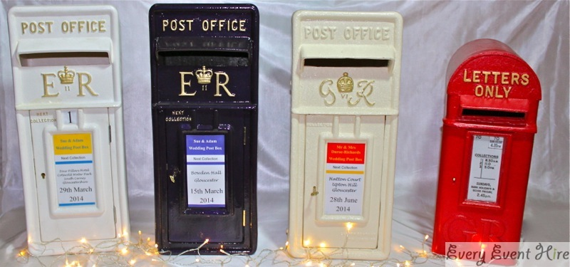 Wedding Postbox Hire Gloucestershire