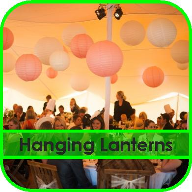 Hanging Lanterns Gloucestershire