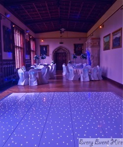 Ashton Court Bristol Starlit Dance Floor