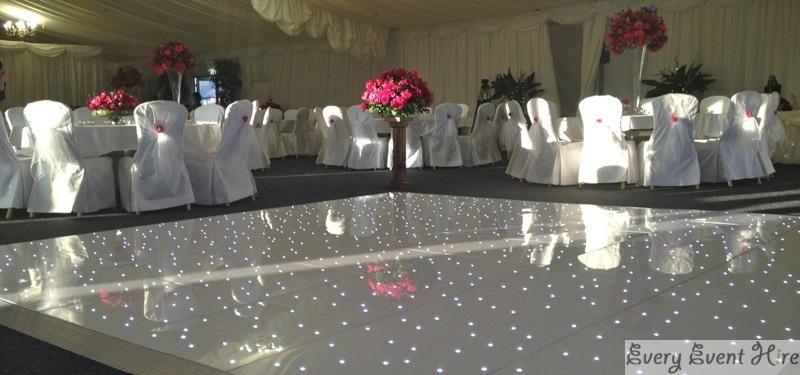 Starlit dance floor hire Gloucestershire
