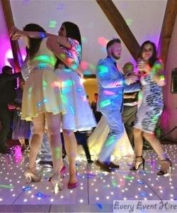 Starlit Dance Floor with Dancers Gloucestershire