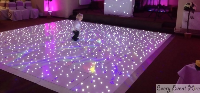 Starlit Floor and lighting hire Gloucestershire